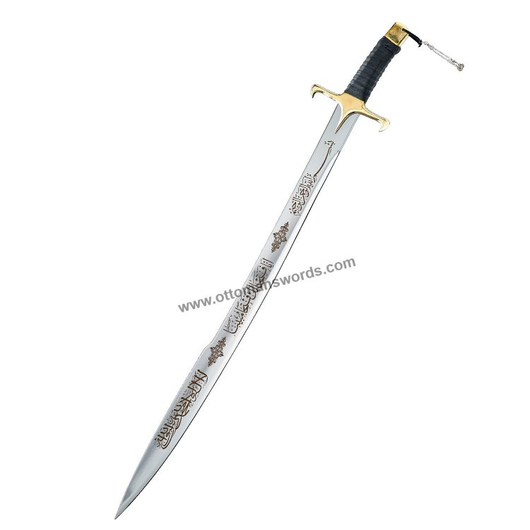 ertugrul sword 1 750x750 - Topkapi Palace Museum Replica Swords Set