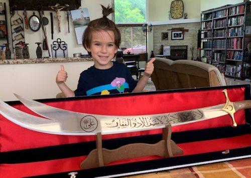 Zulfiqar Sword photo review