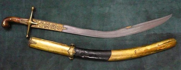 Pala Sword - 10 Legendary Turkish Swords
