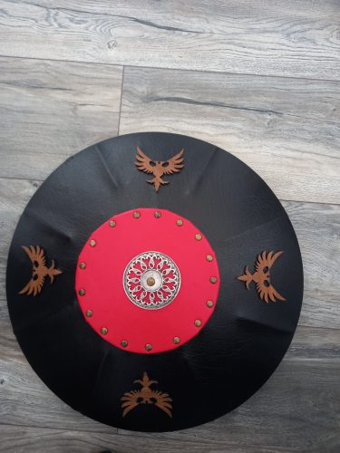 Seljuk Leather Medieval Shield photo review