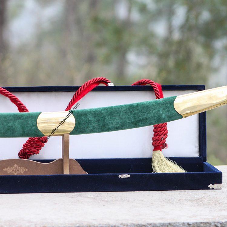Hand forged turkish kilij sword