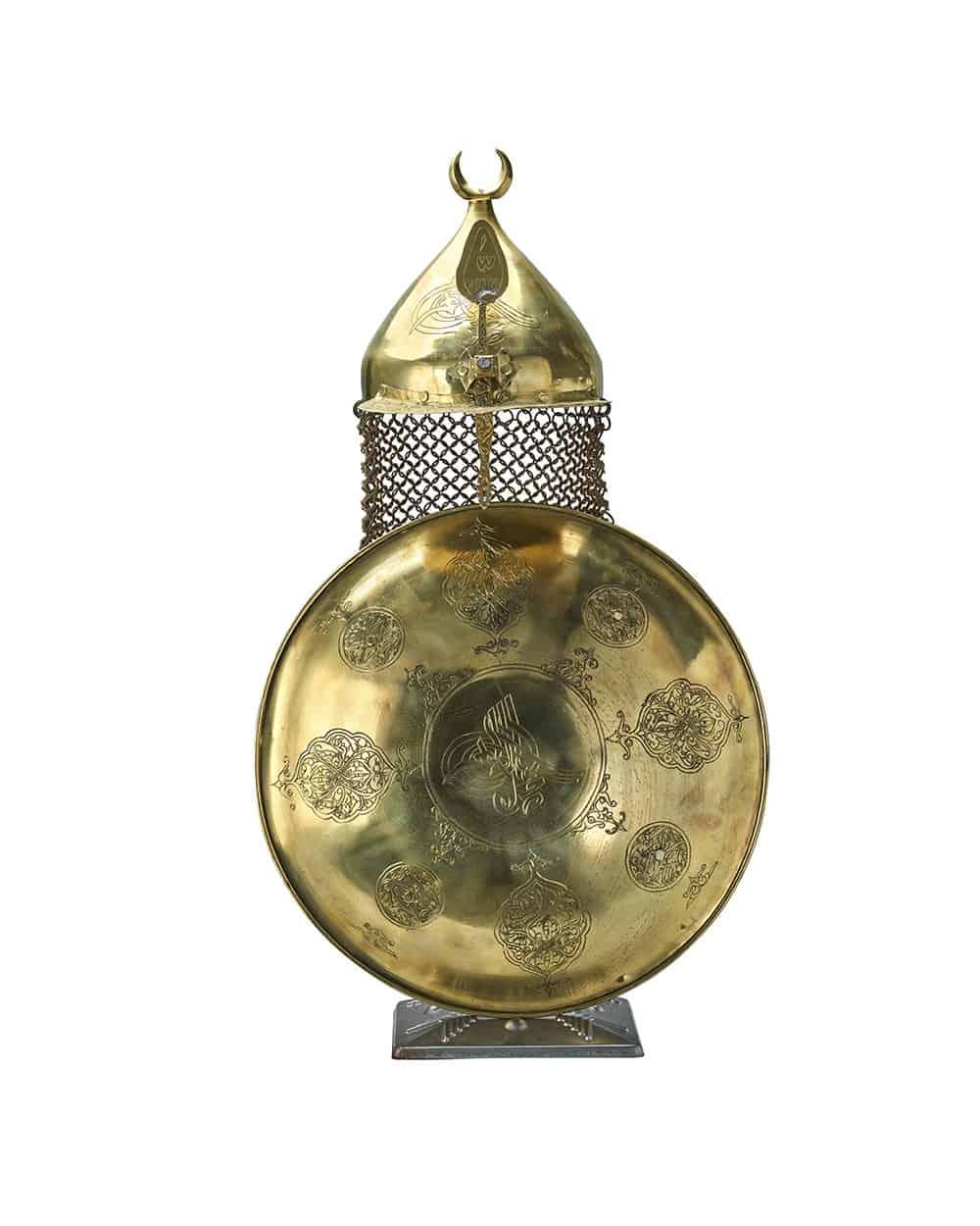 ottoman replica helmet and shield