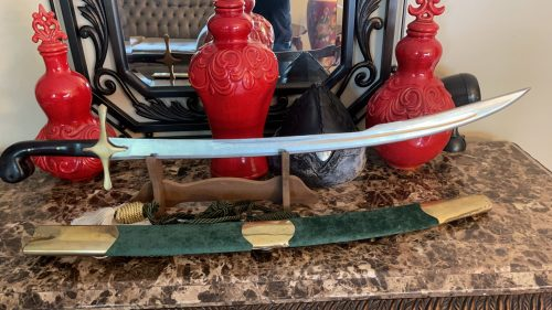 Turkish Kilij Hand Forged Sword photo review