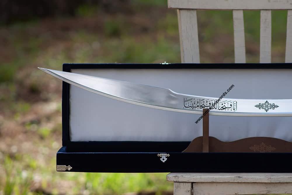 ottoman sword with velvet box