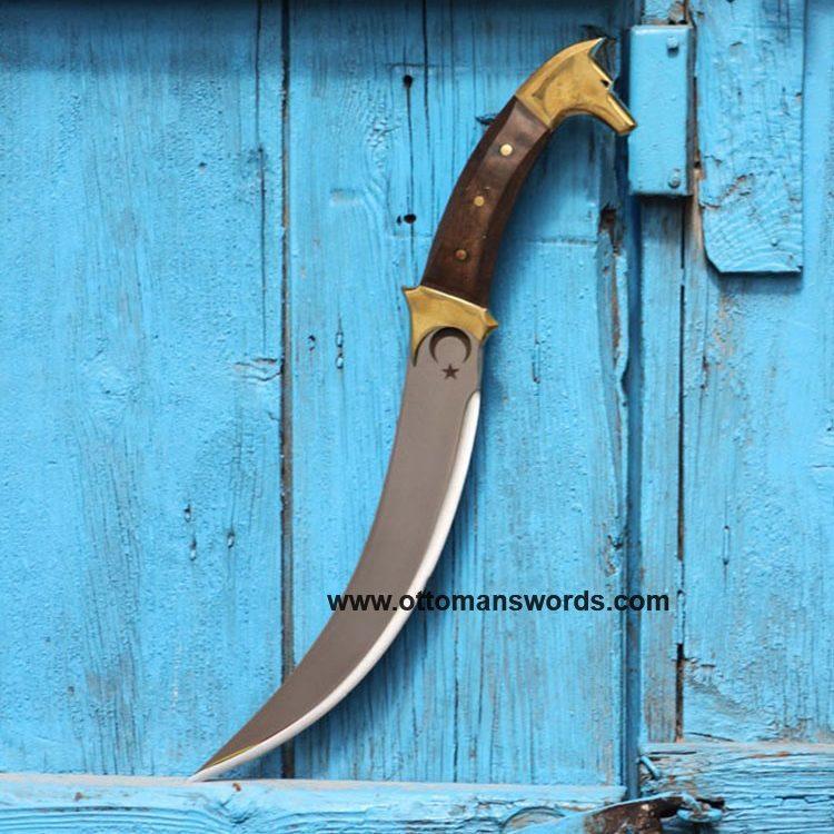 ertugrul knife wolf head