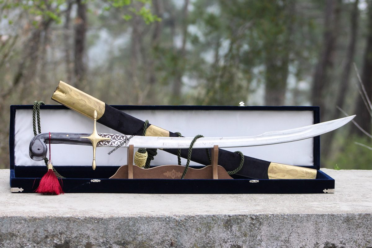 Forged meteorite swords
