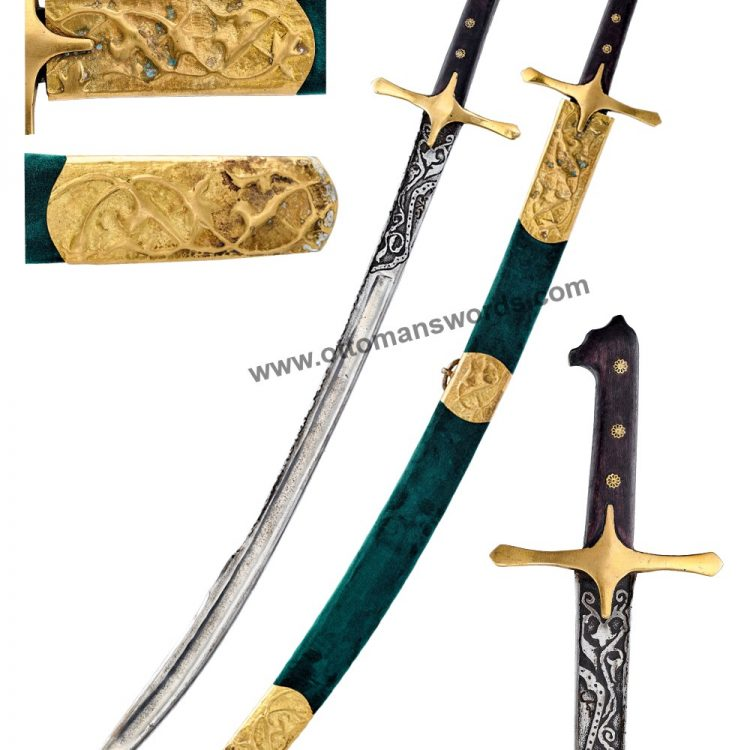 hand crafted forged in fire blade swords 750x750 - Ottoman Swords