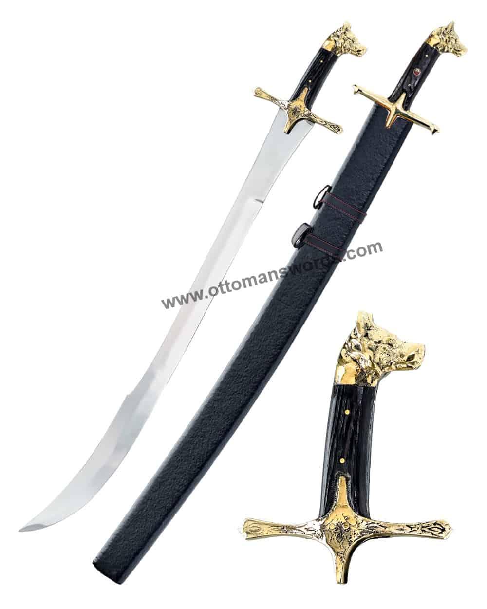 Wollf Head Ottoman Swords