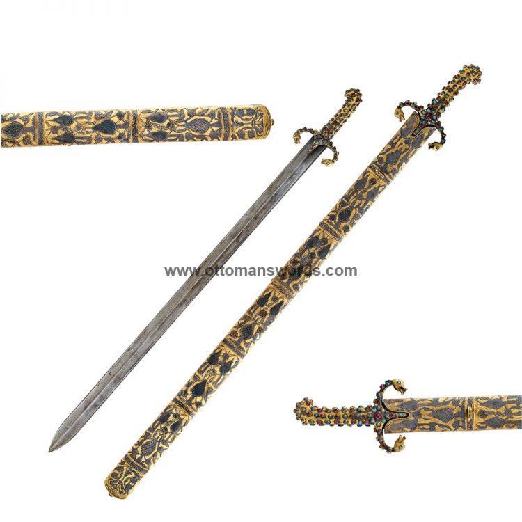 Al Mathur Sword Topkapi Museum Replica 2 750x750 - Medieval Axe