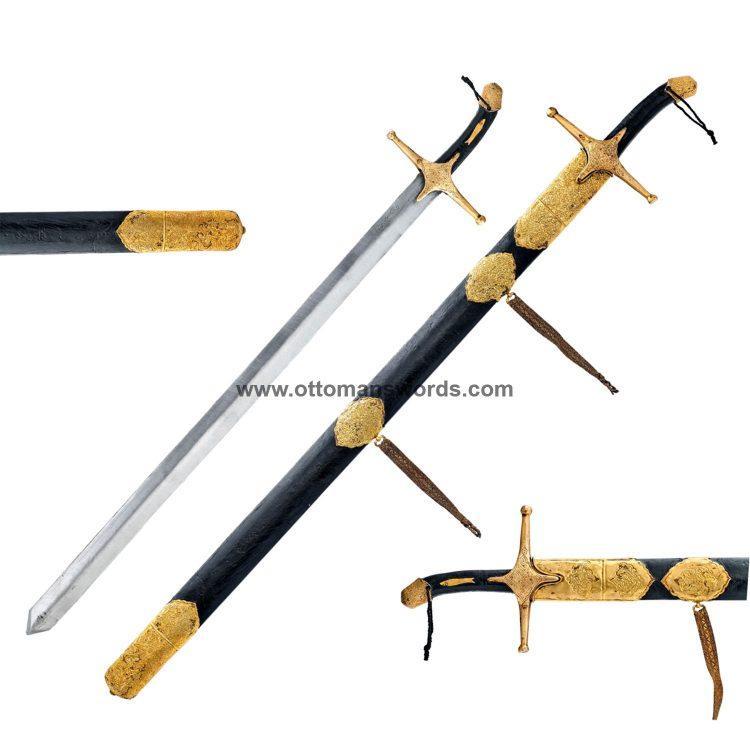Prophet Muhammad Al Qadib Sword Topkapi Museum Replica Sacred Relics 750x750 - Medieval Axe