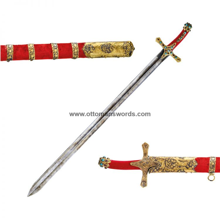 Sacred Relics Topkapi Museum Khalid Bin Al Waled Replica Sword 1 750x750 - Medieval Axe