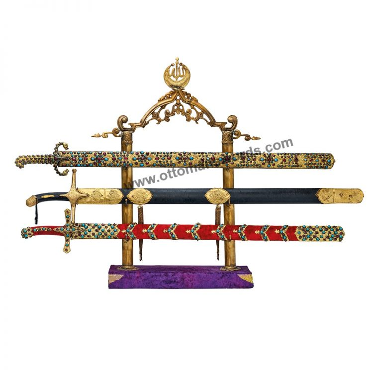 Topkapi Palace Museum Replica Swords Set 750x750 - Medieval Axe