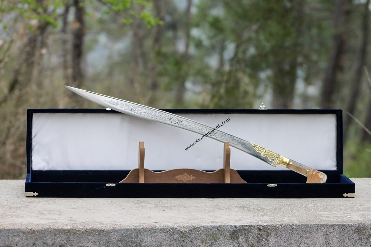 Ram Horn Ottoman Yataghan Sword