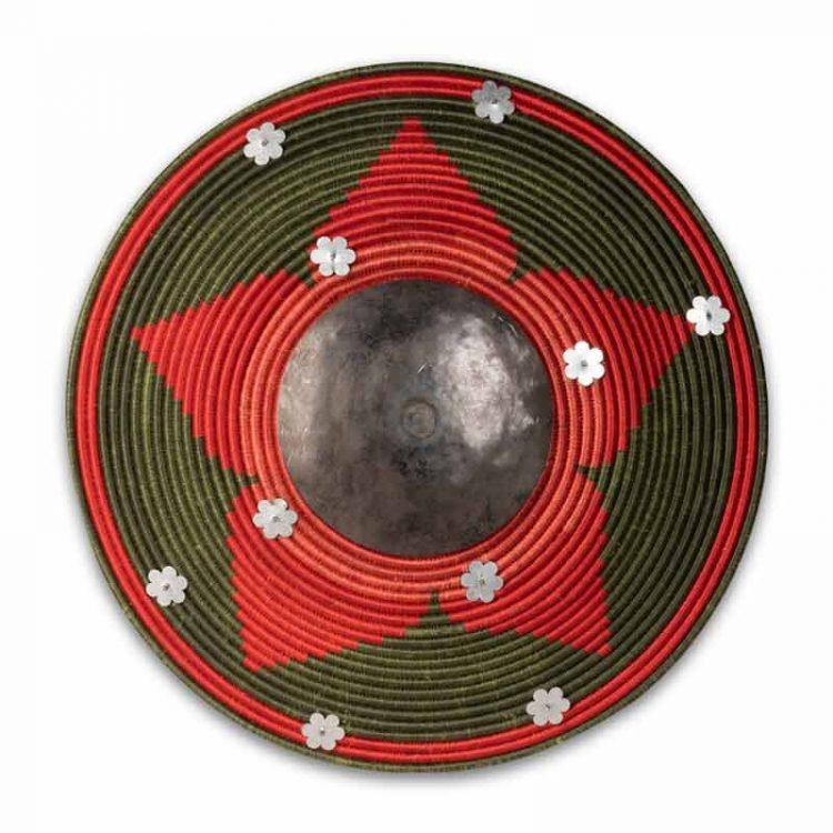 Ottoman Style Replica Shield Green