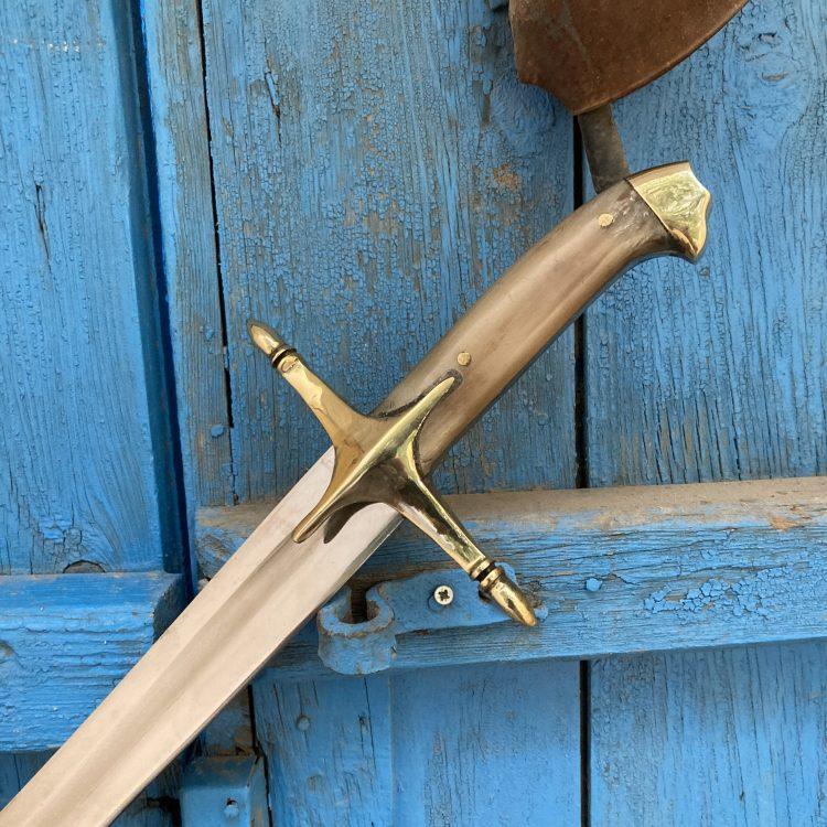Buy 16 17. Century Ottoman Curved Fuller Horn Handle Sword 2 16-17. Century Ottoman Curved Fuller Horn Handle Sword