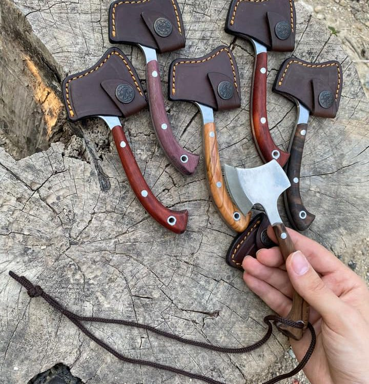 Buy Buy Handcrafted Necklace Camping Axe 2 Handcrafted Necklace Camping Axe