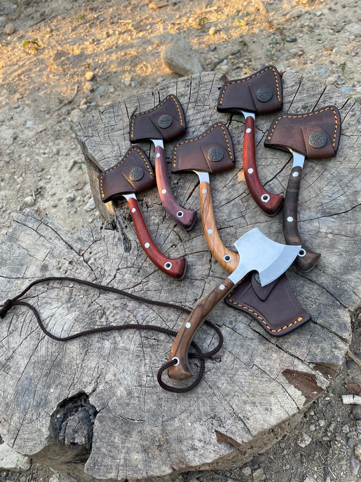 Buy Buy Handcrafted Necklace Camping Axe 3 Handcrafted Necklace Camping Axe
