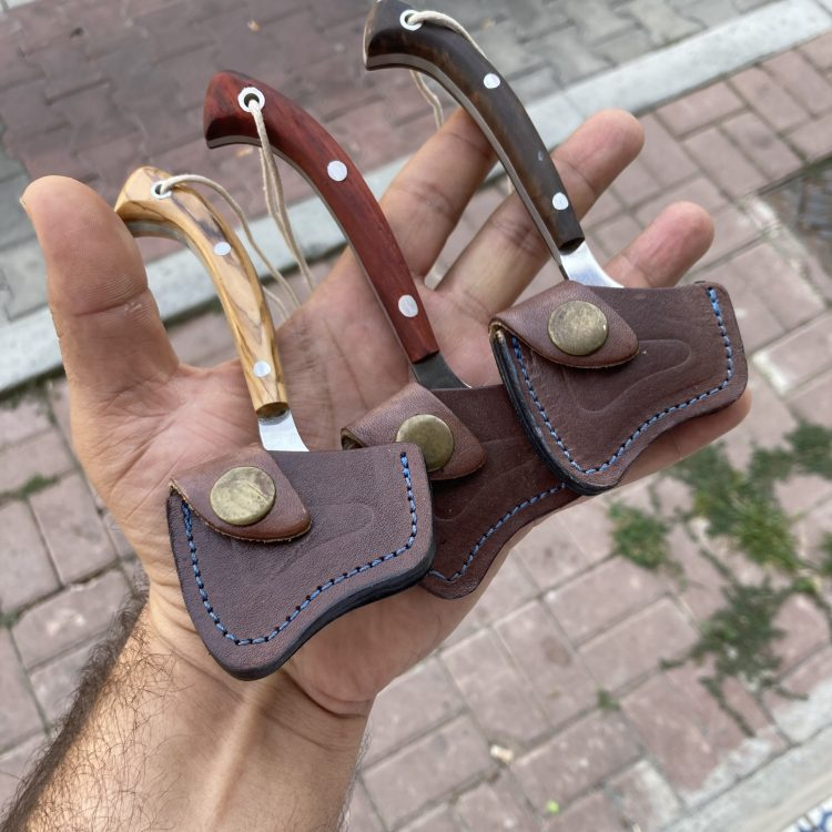 Buy Handcrafted Necklace Camping Axe 2 Handcrafted Necklace Camping Axe