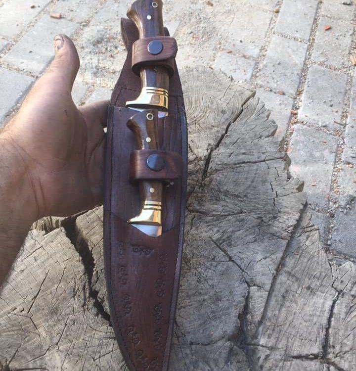 Buy Bushcraft Hunting Double Set Knive 2 Bushcraft Hunting Double Set Knive